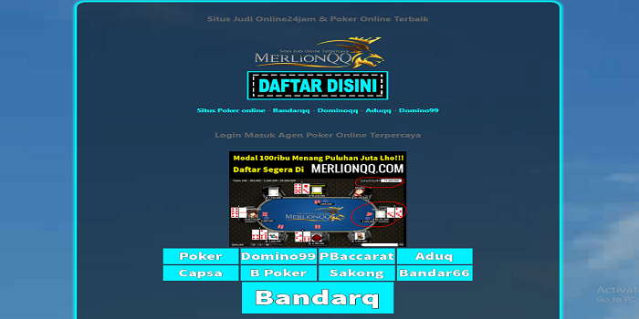 Online Casino – Real Money Online Casinos bandarqq
